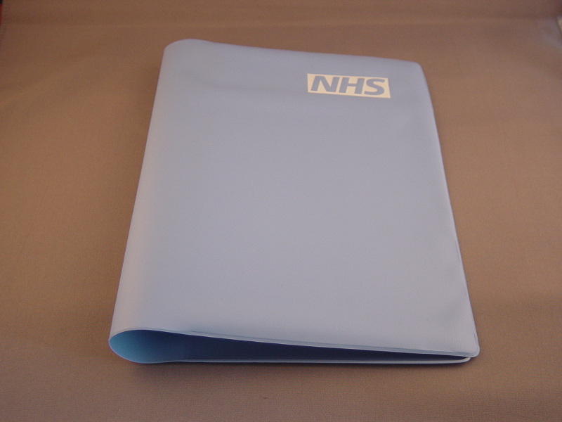A5 standard NHS Diary Cover