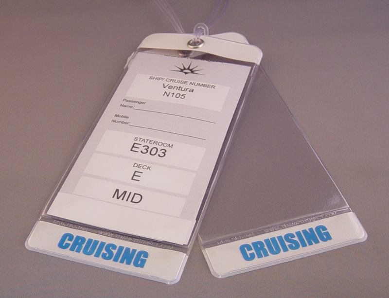 Deluxe Luggage E-tag holder (for 2)
